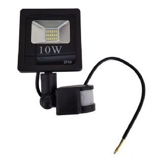 LED SMD Floodlight - IP65 With Sensor 10W/20W/30W/50W